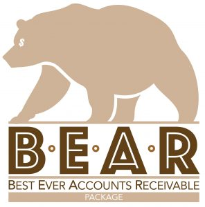 Logo 'best ever accounts receivable' package