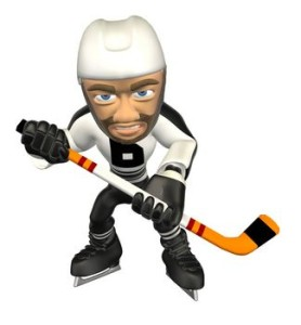 picture of hockey player