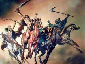 Photo of four horsemen