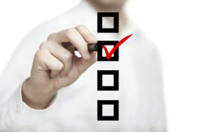 image checklist